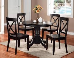 Dining Room Sets With Round Tables Black Dining Room Furniture Sets Beauteous Decor Black Cottage Oak