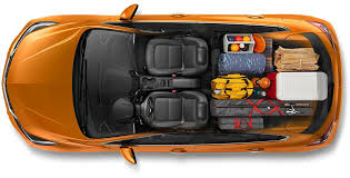 The      Cruze Hatch has enough space to spare for any camping enthusiast