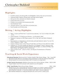 Resume For Caregiver Duties Student Teaching Description For Resume Free Resume Example And