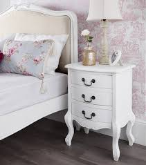 Vintage White Bedroom Furniture Bedroom Double Shabby White Bedside Tables Lilyfield Life Vinyl