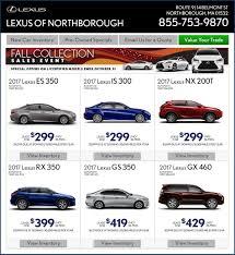 lexus usa lease specials lexus of northborough is a northborough lexus dealer and a new car