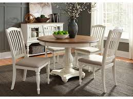 liberty furniture dining room 5 piece pedestal table set 334 cd