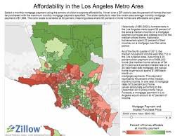 Zip Code Map Of Los Angeles by A Middle Class La Household Can Only Afford 12 Of Homes Curbed La