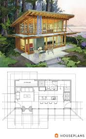 Dwell Home Plans by Modern Cabin Home Plan By Washington Architects Brachvogel And