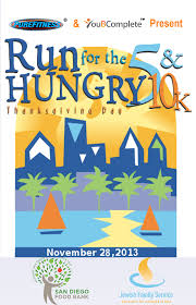 thanksgiving volunteer san diego run for the hungry a thanksgiving 5k u0026 10k in downtown san diego
