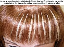 Human Hair Glue In Extensions by Hair Extensions