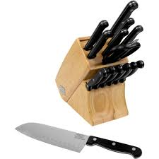 Kitchen Knives Online by Ginsu Essential Series 10 Piece Stainless Steel Serrated Knife Set