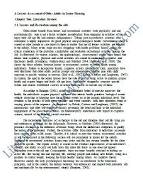 Order of dissertation Ict ocr coursework