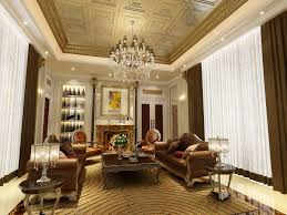 unique most beautiful living rooms with crystal chandelier design