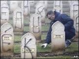 Túmulos de soldados muçulmanos são atacados na França