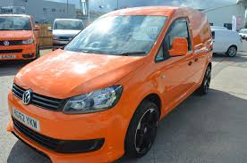 used 2012 volkswagen caddy c20 tdi bluemotion high styling orange