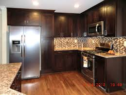 kitchen floor ideas with oak cabinets slate ebook black tiles