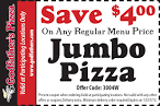 Online Coupons and Discounts for Godfather's Pizza