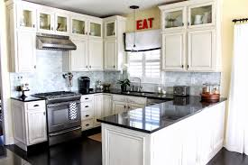 choosing the perfect kitchen cabinet ideas midcityeast add dark countertop white kitchen cabinet ideas for tiny space with hardwood flooring
