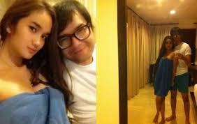 Foto Nakal Faby Marcelia dan Kekasihnya