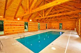 In Door Pool by Luxury Cabins In Pigeon Forge Tn With Indoor Pool Cabin And Lodge