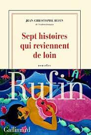 SEPT HISTOIRES QUI REVIENNENT DE LOIN (couverture)