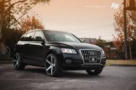 Audi Q5 Black - sr auto audi q5 vossen cv3 versatility in action