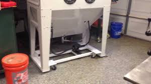 sand blast cabinet injector blasting cabinet except cabinet type mobile base for sand blast cabinet