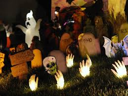 office 32 2014 cool outdoor halloween decorations skull and