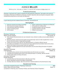 Sample Resume Pharmacy Technician by Professional Pharmacy Technician Templates To Showcase Your Talent