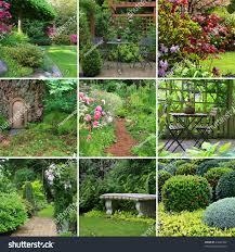 collage beautiful gardens spring stock photo 49644352 shutterstock