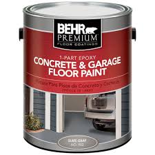 behr premium concrete basement u0026 garage floor paint paint