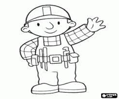coloring pages of tools a worker with the tools in a belt coloring page printable game