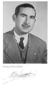 Nacido en Albacete el 8 de abril de 1913, D. Enrique Ruiz Oñate es titular mercantil, ... - enriqueruiz