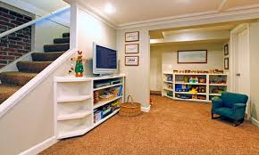 decor charming inexpensive basement finishing ideas for livable