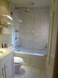 Bath And Shower In Small Bathroom Tiled Shower Larger Tiles U003d Less Grout U003d Less Yuck Marble