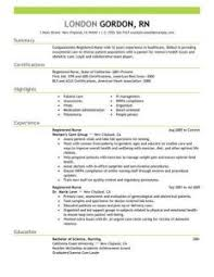 Registered Nurse Resume Examples by Marvellous Design Nursing Resume Samples 5 Best Registered Nurse