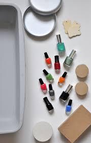 diy marbling with nail polish design mom