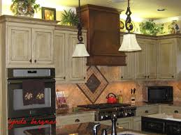 Old Wooden Kitchen Cabinets Racks Time To Decorate Your Kitchen Cabinet With Cool Pickled