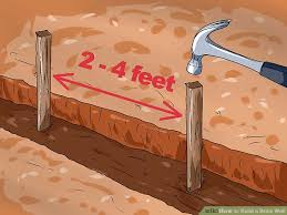 How To Build A Small Shed Step By Step by How To Build A Brick Wall With Pictures Wikihow