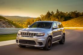 2018 jeep grand cherokee trackhawk first drive crazy good