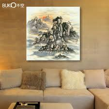 Artwork For Dining Room Aliexpress Com Buy Colorful Zen Famous Landscape Paintings Wall
