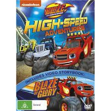 blaze u0026 monster machines speed adventures dvd jb fi