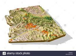 Map Az Map Of Arizona Stock Photos U0026 Map Of Arizona Stock Images Alamy