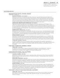 sample assistant principal resume sample resume professional baseball frizzigame baseball resume resume for your job application