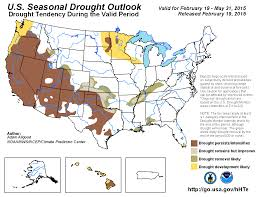 Drought Map Usa by Climate Prediction Center United States Seasonal Drought