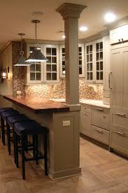 Kitchen Peninsula With Seating by Best 25 Kitchen Bar Counter Ideas Only On Pinterest Kitchen
