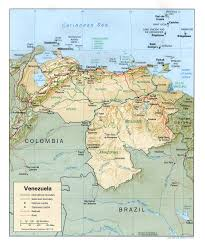 Political Map Of South America South America Physical Map A Learning Family Political Map Of