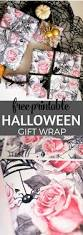 printable halloween banner adorable halloween birthday gift wrap free printable tinselbox