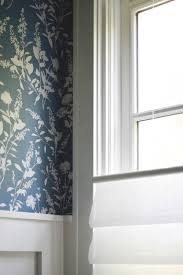 wallpaper powder room home with keki
