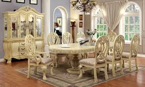 white formal dining room sets home designs kaajmaaja
