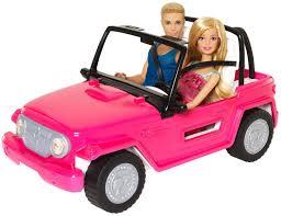Barbie Beach Cruiser and Ken Doll   Free Shipping