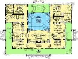 amazing house plans with courtyard pool pictures decoration large size mediterranean style house plans spanish home with courtyards lrg adadacbcd