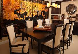 Serene And Practical  AsianStyle Dining Rooms - Interior design chinese style