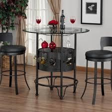 Bistro Table For Kitchen by Kitchen Bistro Sets 3 Piece Outdoor Bistro Set Bar Height Black